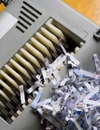 Shredding Shredder Shred Documents